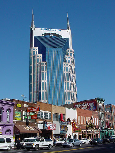 Tennessee Bellsouth Building Nashville Tn 617 Ft 33