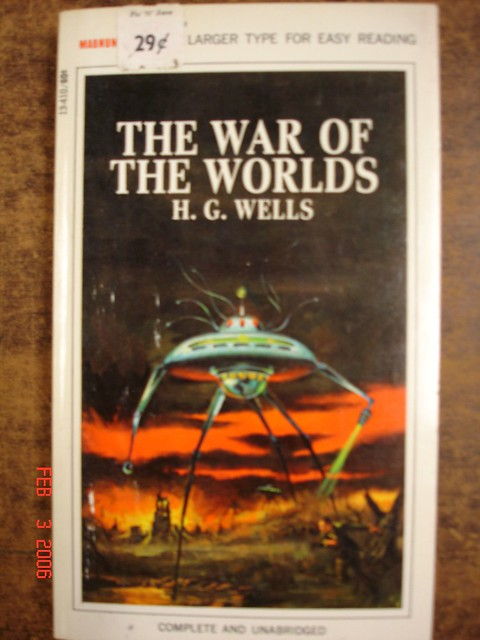 h g wells war of the world in H g wells's science fiction classic the war of the worlds has been adapted several times for the big screen and radio shows across the globe.