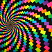 eye candy - spiral trippy blacklight poster - windows background version - BEST POSTER EVER