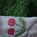Green towel / Cherries
