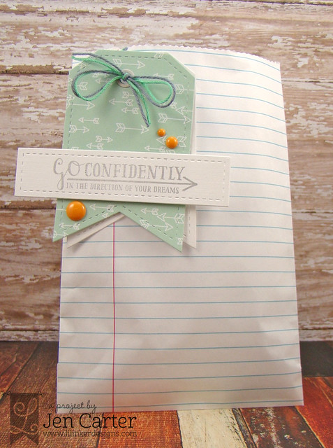 Jen Carter Go Confidently Bag Tag 1 wm
