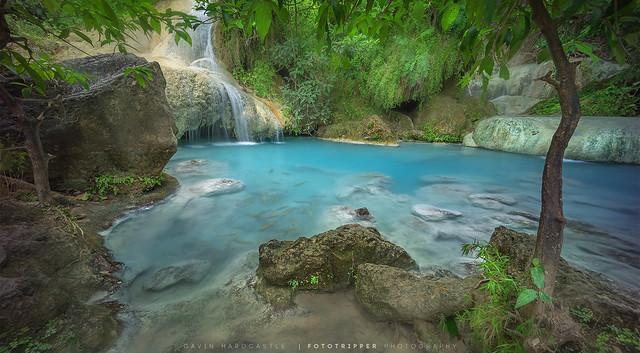 Blue Lagoon, Erawan Falls, Thailand