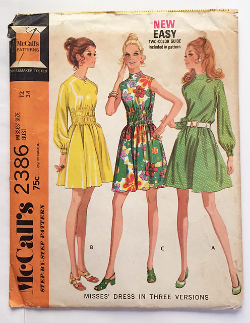McCalls 2386 vintage pattern