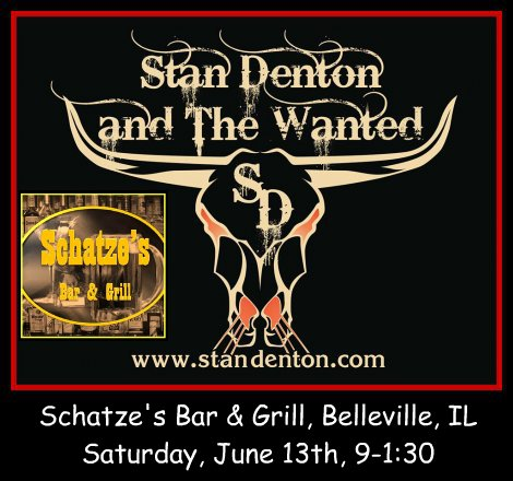 Stan Denton & The Wanted 6-13-15