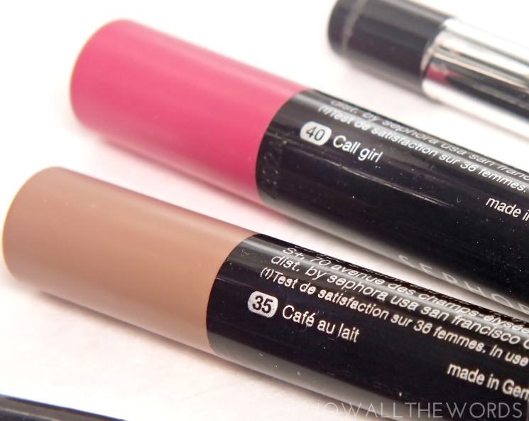 sephora collection colourful Sadow and Liner in 40 call girl 35 cafe au lait (2)
