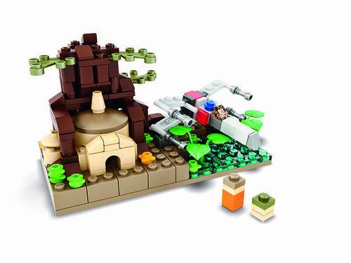 LEGO Star Wars Dagobah SDCC 2015