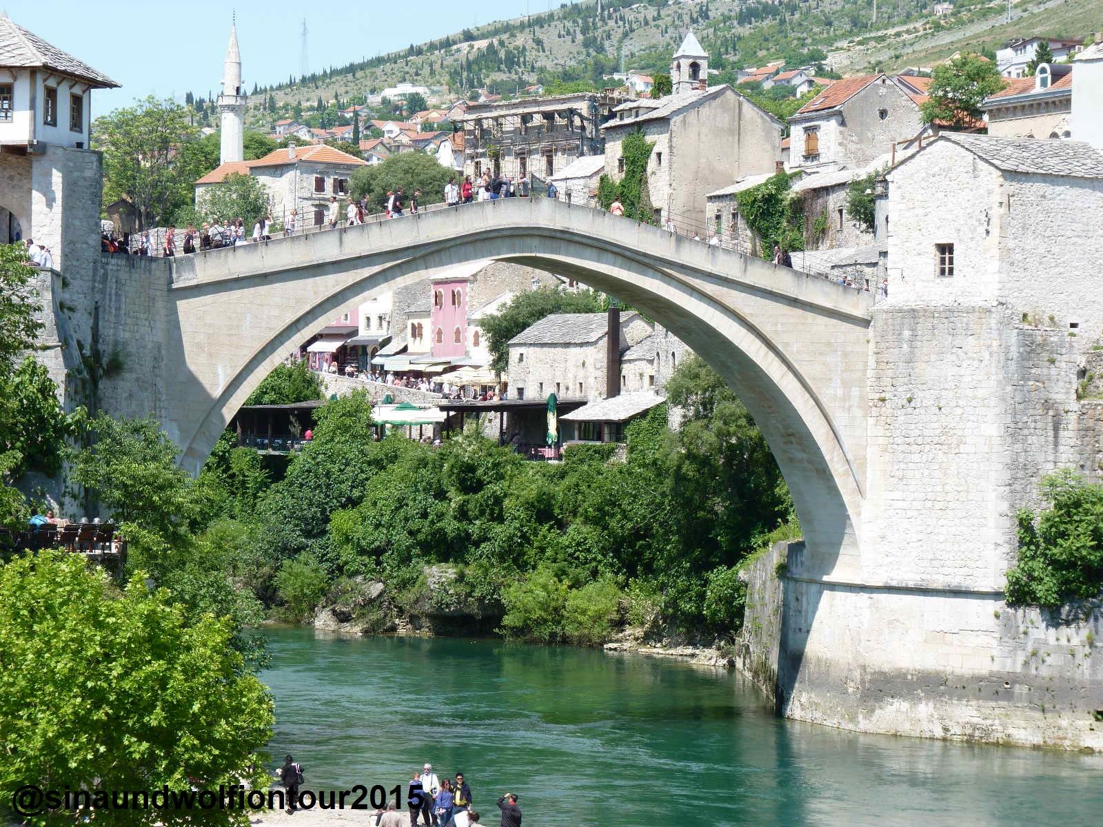Brücke Mostar, Juni 2015
