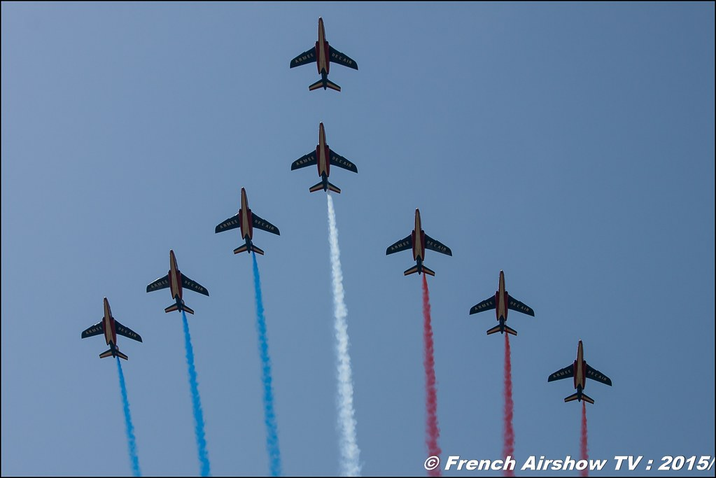 Patrouille de France, 70 ans BA-278 Ambérieu-en-Bugey, Meeting Aerien 2015