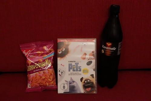 """Karamalz und Cashew-Erdnus-Mix (Variante Honig & Salz) zum Film """"Pets"""""""