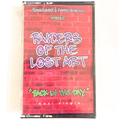 RAIDERS OF THE LOST ART:BACK IN THE DAY(JACKET A)