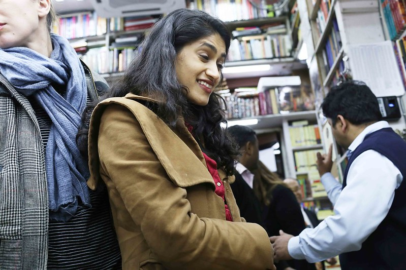 City Moment – An Evening in the Life of Authors  Padma Lakshmi and Sheela Reddy, Bahrisons Booksellers, Khan Market