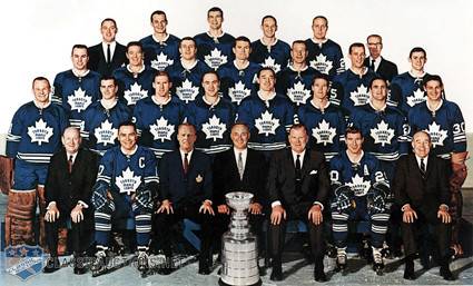 1966-67 Toronto Maple Leafs team