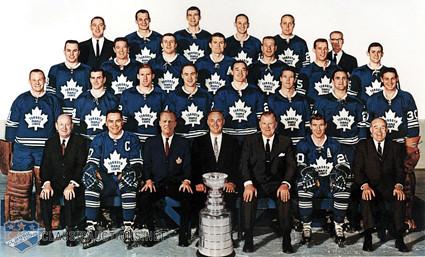 1966-67 Toronto Maple Leafs team