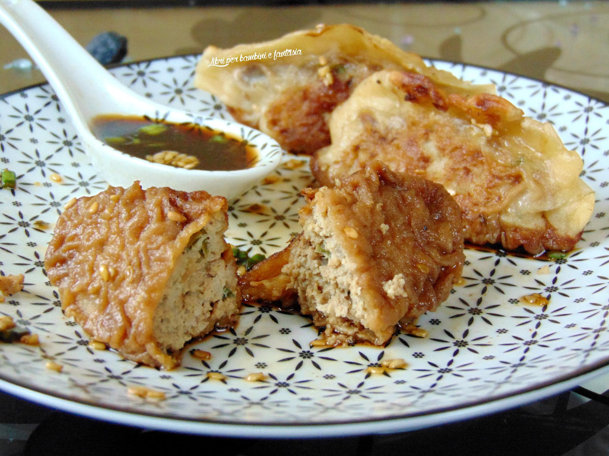 Men a due per il capodanno cinese pot stickers jiaozi for Menu cinese ricette