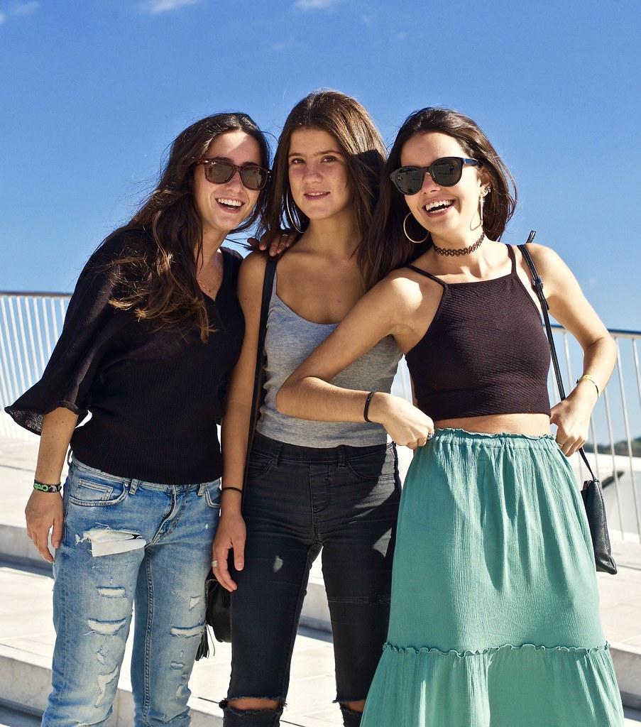 Three friends   Belem,...