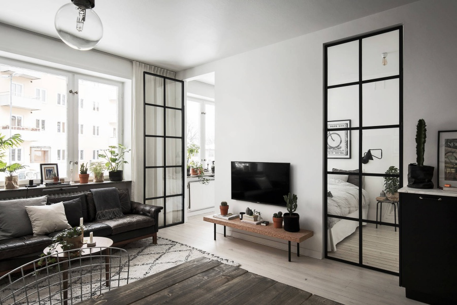 Stylish Modern Scandinavian Home Blogger Inspiration