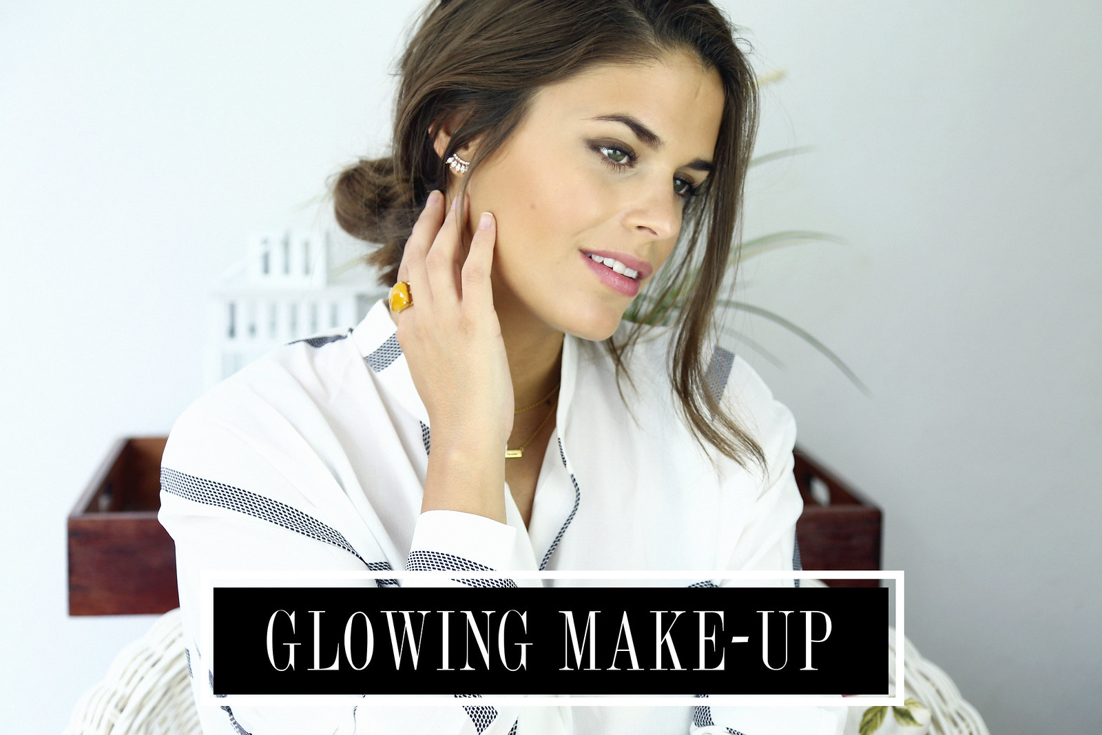 glowing make-up tutorial seams for a desire jessie chanes