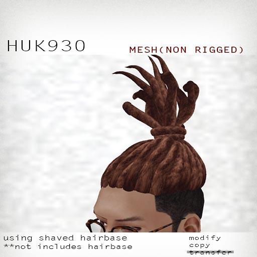 booN HUK930 hair