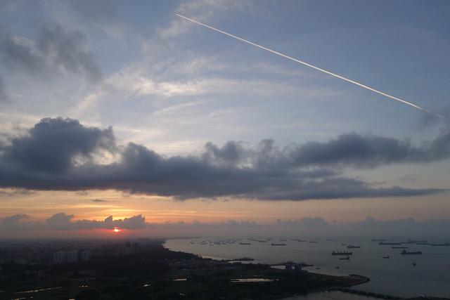 Sunrise at MBS