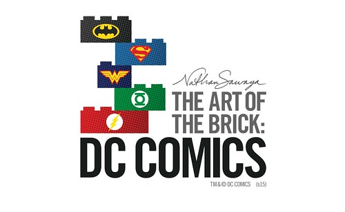 SDCC 2015 The Art of the Brick: DC Comics