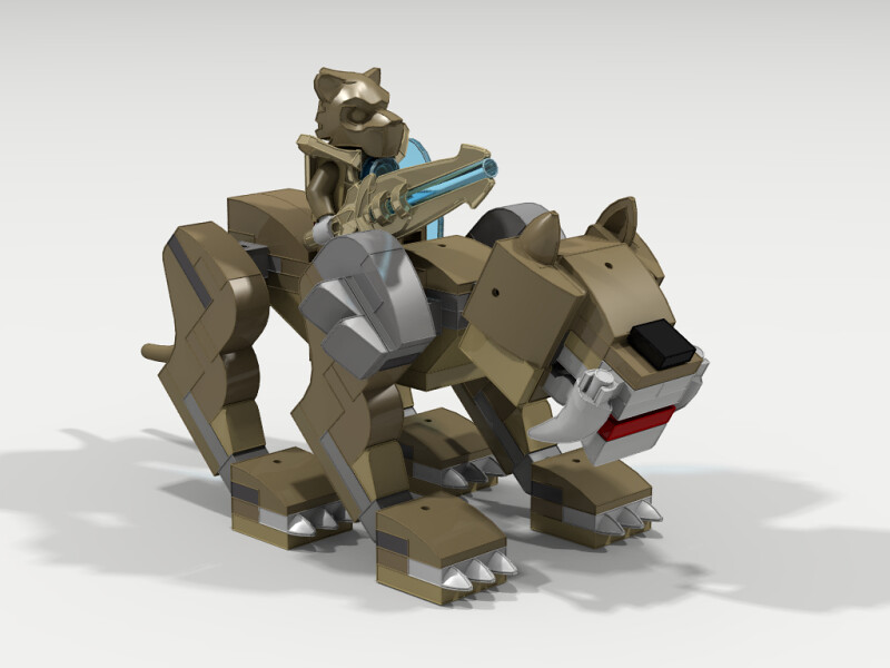 lego chima legend beast rhino - photo #1