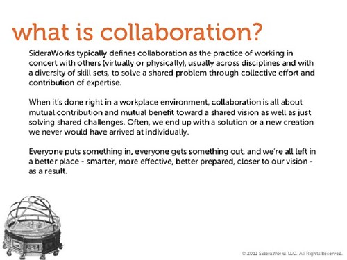 what is collaboration  u2013 collaboration meaning
