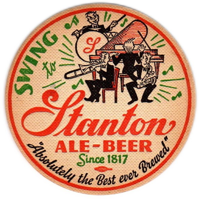 Stanton-Ale--Lager-Beer-Coasters-Over-4-Inches-The-Stanton-Brewery-Inc