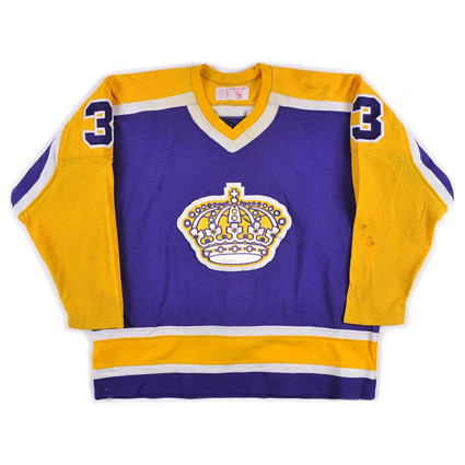 Los Angeles Kings 1981-82 F jersey