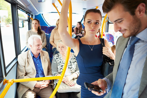 give up your seat on public transport