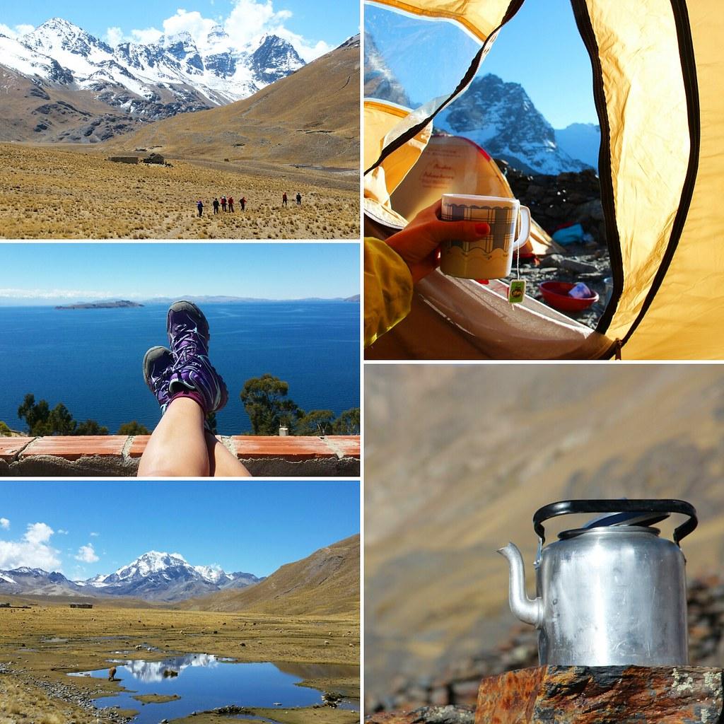 vaellus boliviassa   vuoristo