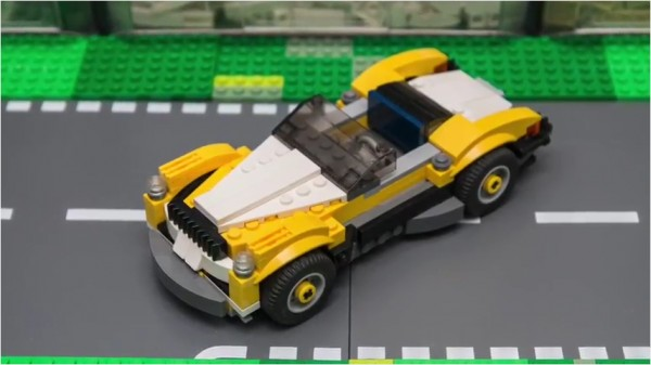 LEGO Classic Cabriolet MOC Built from (31046) Kit