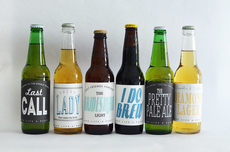girl beer labels