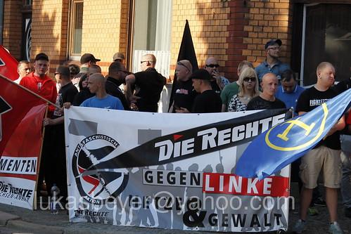 Neonazikundgebung in Quedlinburg