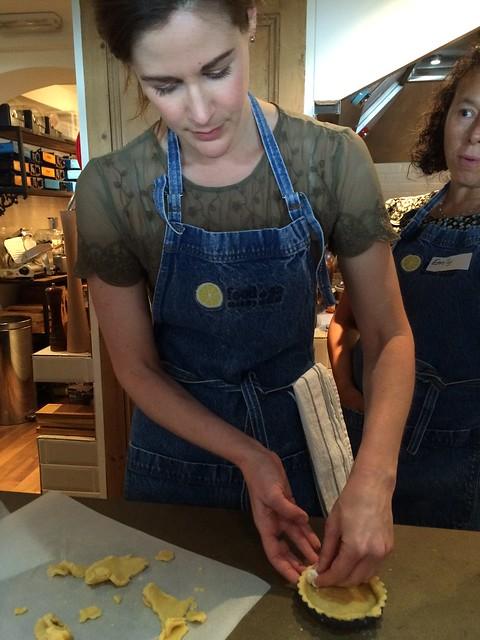 Tart making