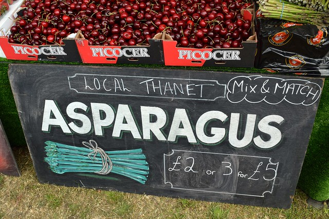 Thanet Asparagus at Walmer Food Festival