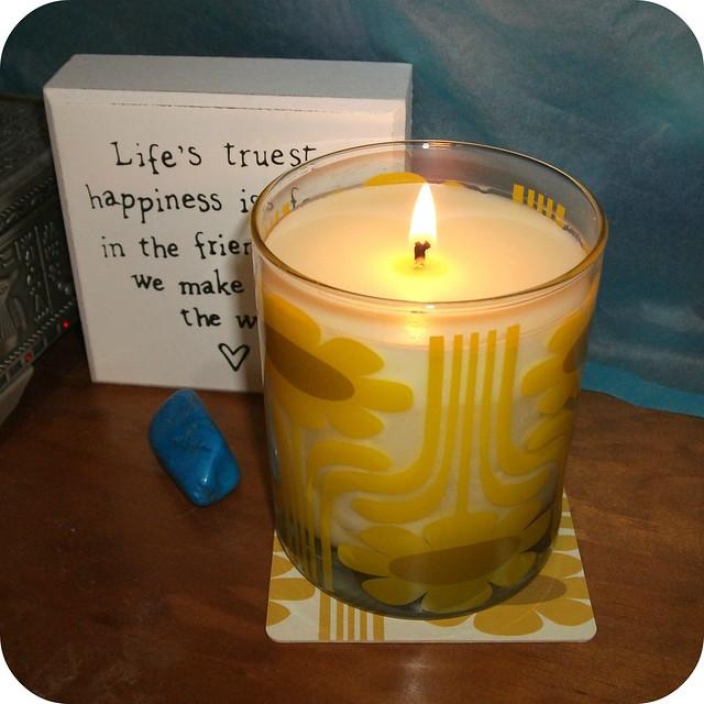 Orla Kiely Sicilian Lemon Candle Lit