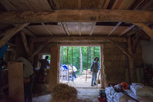 Looking South Inside Strawbale Workshop | by goingslowly