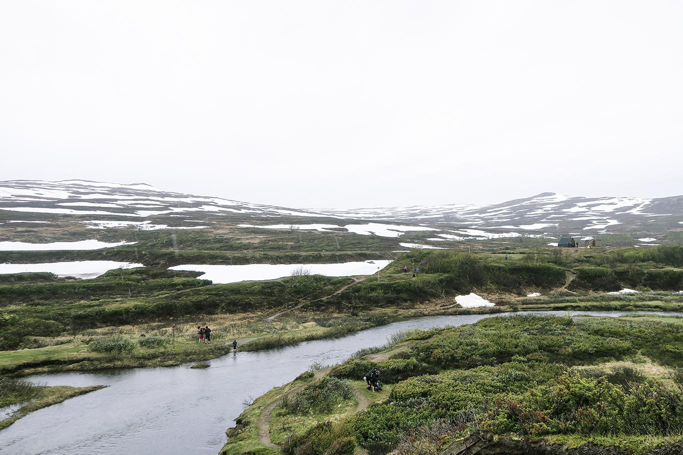 Löpning från Storulvån