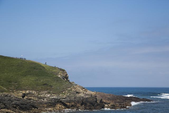 Puerto y costa de Comillas
