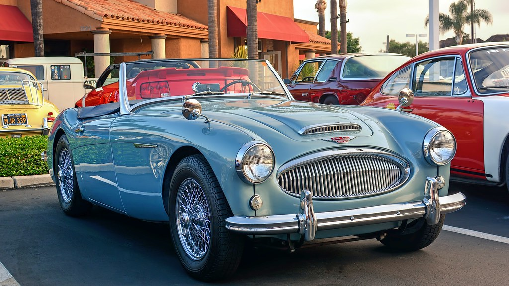 AustinHealey Mk II Cars N Coffee Enderle Center Flickr - Enderle center car show