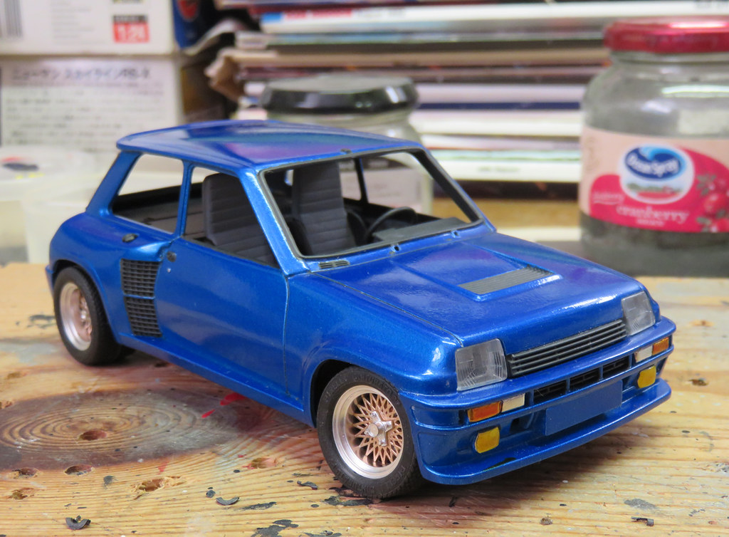 1 24 tamiya renault 5 turbo the kit i bought off alan a. Black Bedroom Furniture Sets. Home Design Ideas