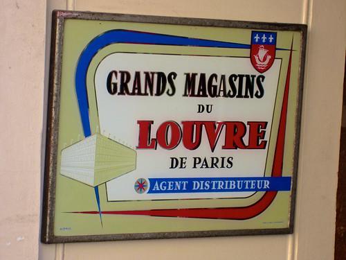 grands magasins du louvre de paris paris france an old. Black Bedroom Furniture Sets. Home Design Ideas