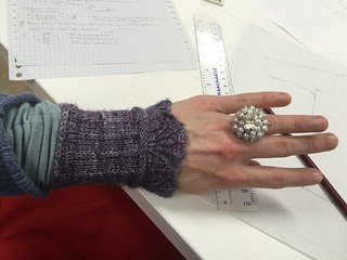 sparkly ring wristwarmers