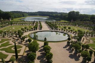 073 Kasteel van Versailles tuinen