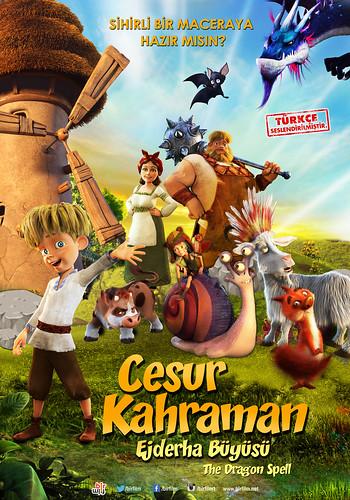 Cesur Kahraman: Ejderha Büyüsü - The Dragon Spell (2017)