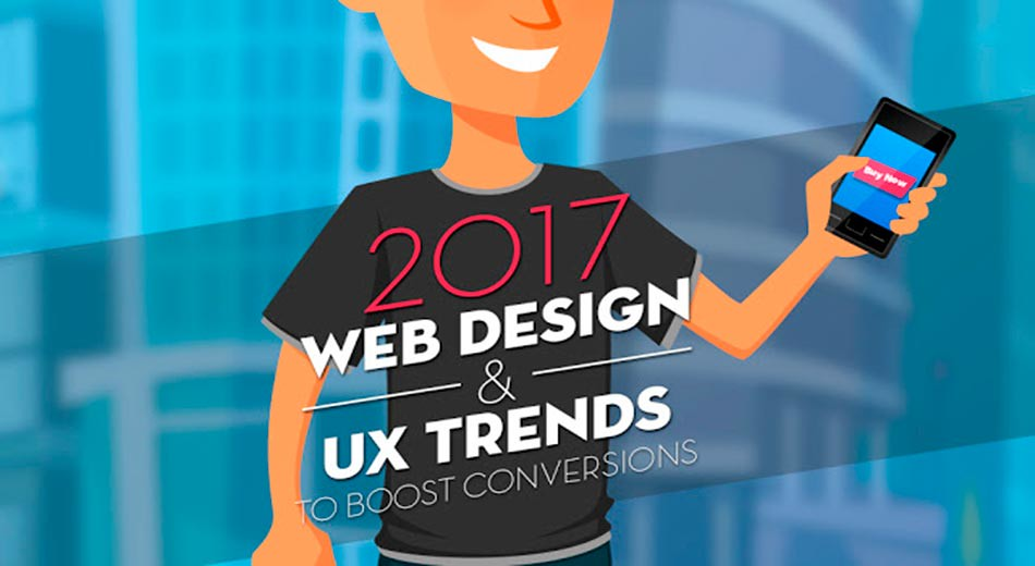 Web design and UX trends to watch for 2017