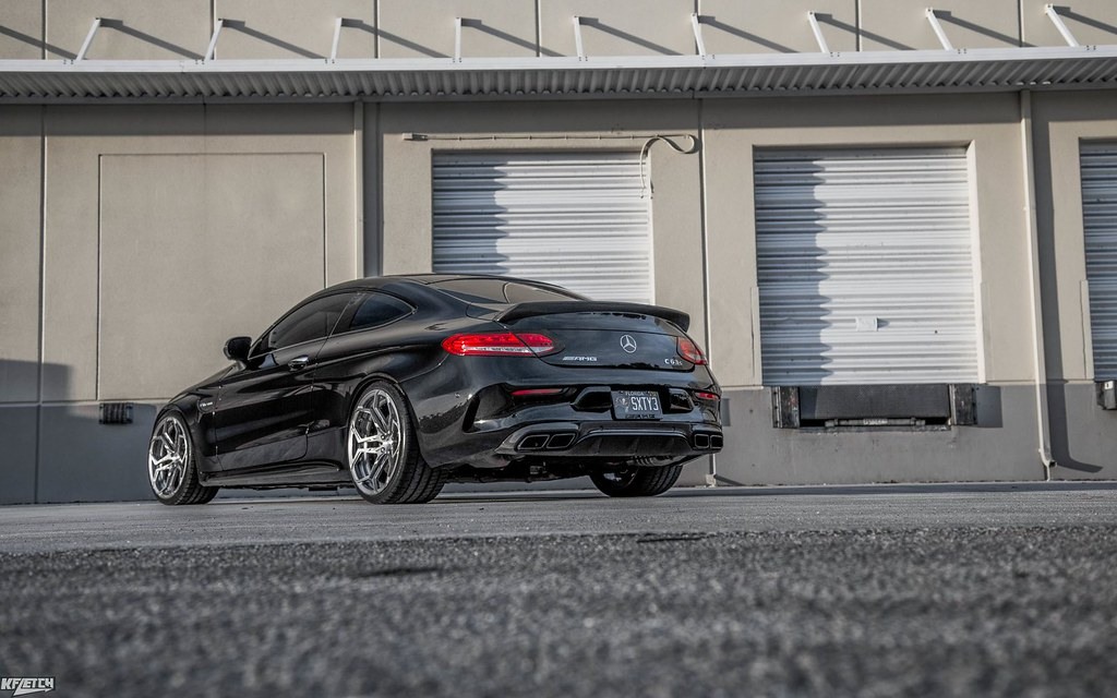 Mercedes W205 C63s AMG Coupe | Velos XX Forged Wheels - 6SpeedOnline