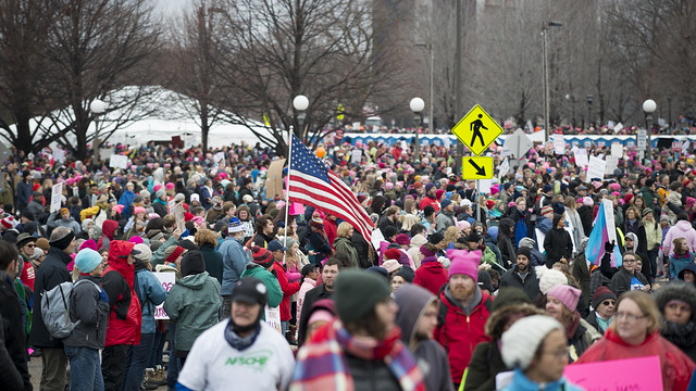 Minnesota women's march against Donald Trump