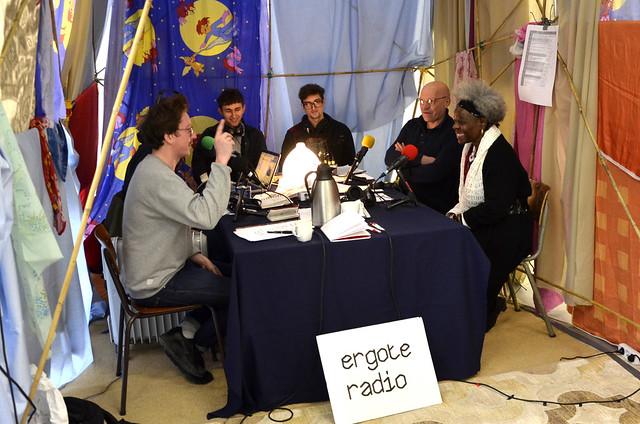 Princesse Mansia M'bila à la Zone Radio Temporaire, Erg
