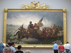 Washington Crossing the Delerare
